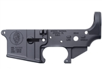 Spike's Tactical AR-15 Lower BLEM (Multi) Forged ZOMBIE Stripped AR Lower-Live/Dead Markings