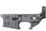 Spike's Tactical AR-15Lower BLEM (Multi) Forged Spider Stripped w/ Bullet Markings