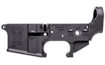 Spike's Tactical AR-15Lower (Multi) Pipe Hitters Union Joker Stripped w/ Bullet Markings