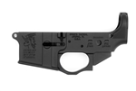Spike's Tactical AR-15 SNOWFLAKE Stripped Lower Receiver w/ Integral Trigger Guard