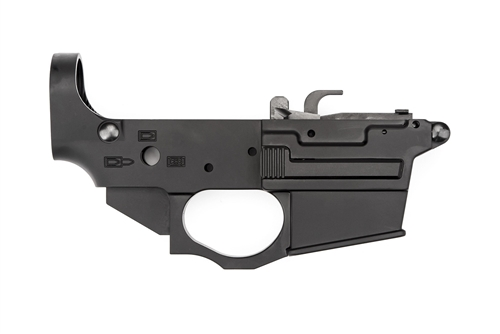 Spikes Tactical Ar 15 9mm Glock Style Lower Forged Spider Stripped