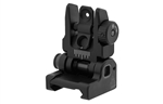 UTG ACCU-SYNC Spring-loaded AR15 Flip-up Rear Sight - Black