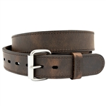 VersaCarry Double Ply Leather Belts - Distressed Brown